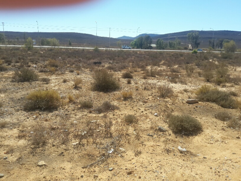 644m2 plot in Touwsriver for only R65 000 close to aquilla nature reserve