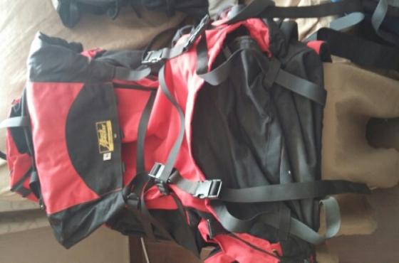 Rugged 85Litre Boulder Hiking Bag For Sale