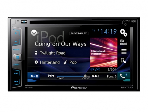 Pioneer AVH-X2850BT 6.2 WVGA Touch Screen Bluetooth DVD Player including installation