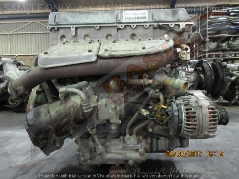 Mercedes benz mb100d 662911 2 9l diesel efi engine junk for Mercedes benz mb100d