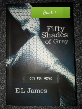 Fifty Shades Of Grey - E. L. James - Book 1.