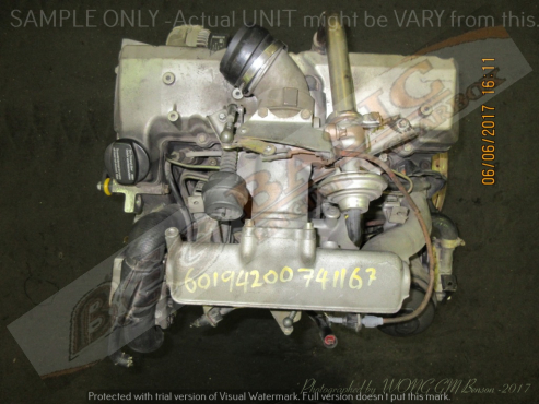 MERCEDES BENZ VITO 108 -601942 2.3L DIESEL EFI Engine