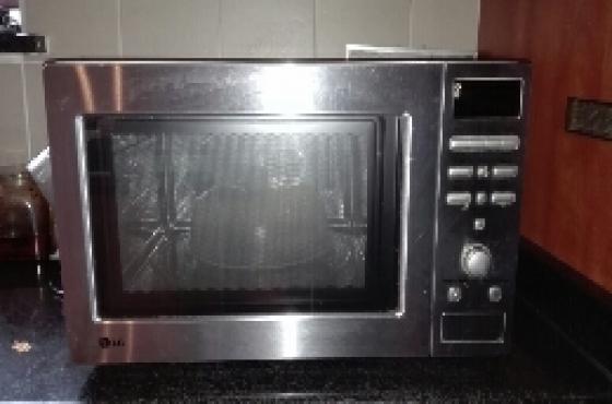 non-functional prestine LG microwave