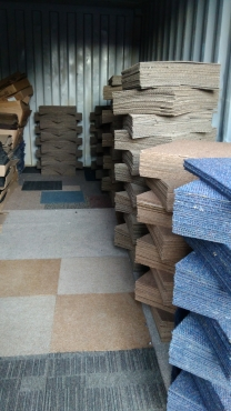 Carpet tiles/mates supply and fit