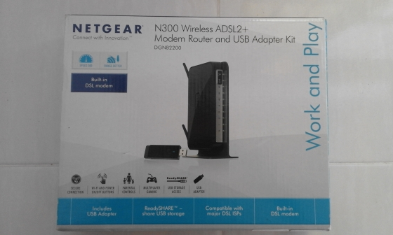 Modem/Router for Internet and Wi-Fi. Assorted. In Boxes.