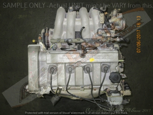 MAZDA 626 -FS 2.0L EFI 16V SIDE COIL Engine -FORD TELSTAR