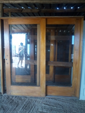2nd Wooden Sliding Door For Sale Junk Mail
