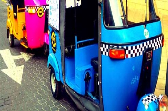 SEVEN (7) TUK TUK CARS FOR SALE