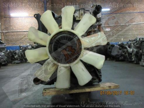 MITSUBISHI CANTER -4M40 2.8L NON TURBO DIESEL Engine -TRUCK