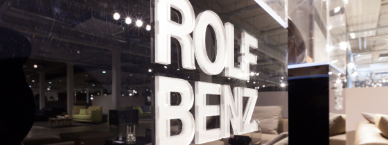 A Rolf Benz Diningroom table