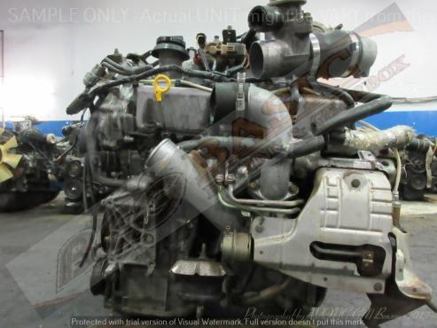 NISSAN Y33 -VQ30 3.0L V6 TURBO EFI (RWD) Engine