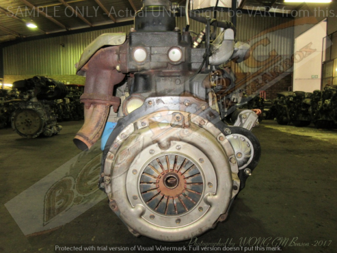 NISSAN CABSTAR -QD32 3.2L NON TURBO DIESEL Engine -Black Top