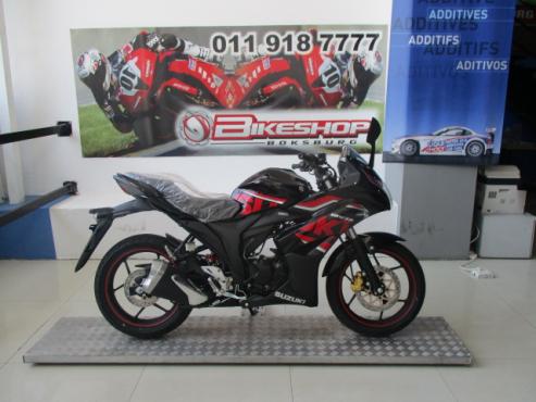 2017 Suzuki GSX150 (finance available)