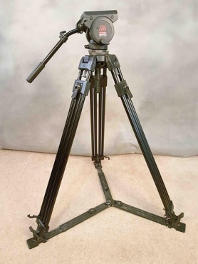 Manfrotto Tripod with Fluid head.