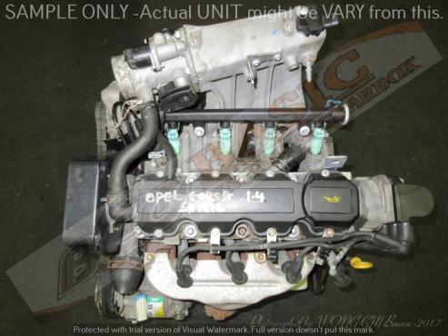 OPEL CORSA -6W 1.4L EFI 8V Engine -LOCAL