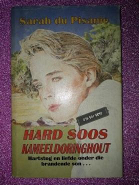 Hard Soos Kameeldoringhout - Sarah Du Pisanie.