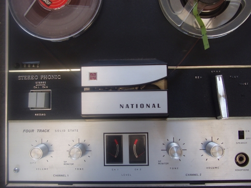 National Reel to Reel Tape Player - in excellent working order