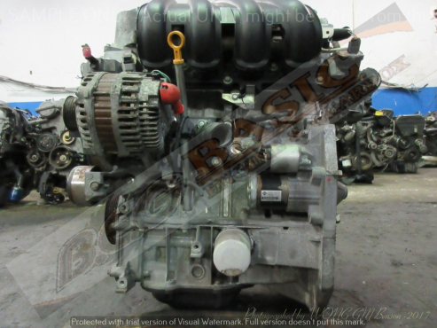 NISSAN TIIDA -HR15 1.5L EFI 16V Engine -MARCH K12