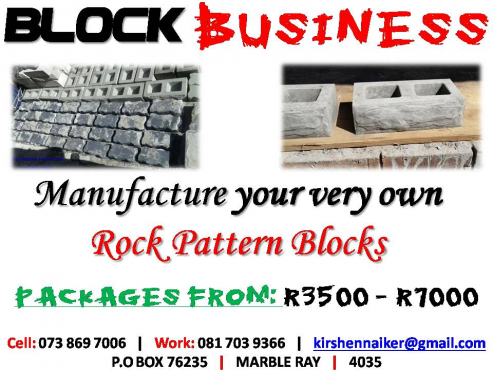Make your own Building Rock Design Blocks