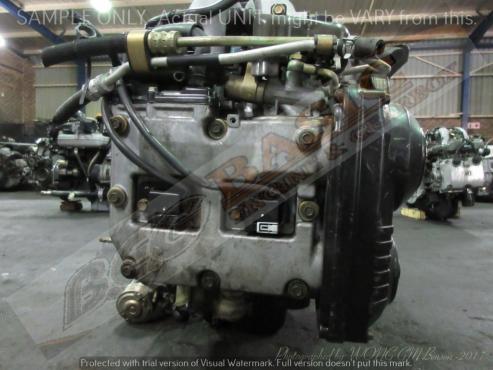 SUBARU LEGACY -EJ20 2.0L EFI D/CAM Engine -ALUMINIUM INTAKE