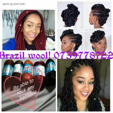 Brazilian Wool Hair