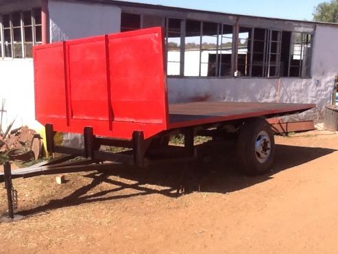 farm trailer flat bed