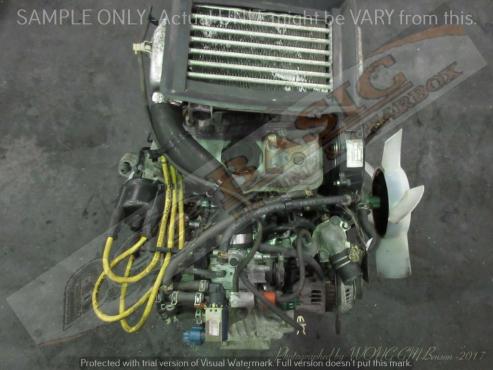 SUZUKI JIMNY -F6A 660CC TURBO EFI 3V Engine