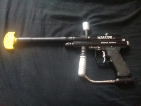 7 warrior paintball guns