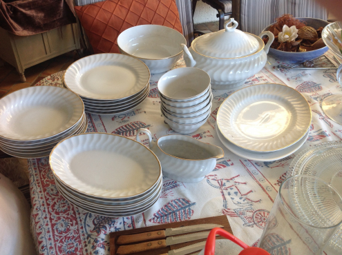Dinner service 29 pieces as new