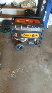 6 5 kva petrol GRIP generator te koop | Junk Mail