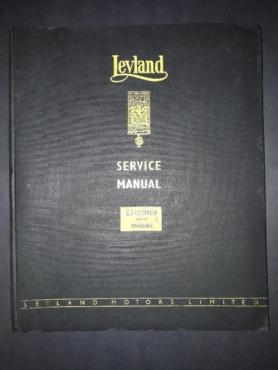 Leyland - Service Manual - 0370/0400 Diesel Engine.