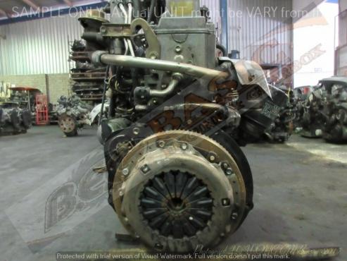 TOYOTA HILUX -3C 2.2L NON TURBO EFI DIESEL Engine