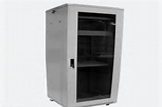 networkcabinets/serverracksforsale.Newandused.Alderac,greywithglassdoorand