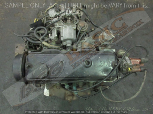 TOYOTA TAZZ -2E 1.3L CARB 12V Engine