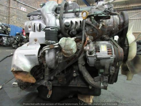 TOYOTA -1KZ 3 0L TURBO DIESEL EFI Engine -HIACE / HILUX