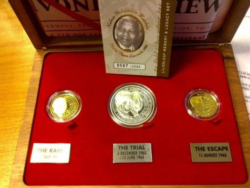 Lilieslief three coins and legacy set