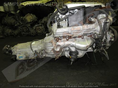 TOYOTA LEXUS -3UZ 4.3L VVTI V8 Engine with Auto Gearbox