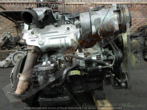 TOYOTA HIACE -5L 3 0L NON TURBO DIESEL Engine | Junk Mail