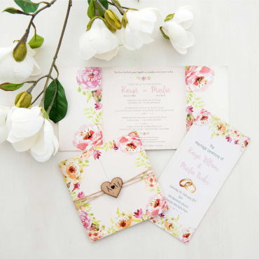 Wedding invitations & On The Day Stationery