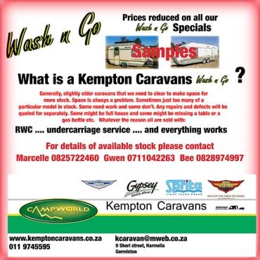 Caravan Wash & Go