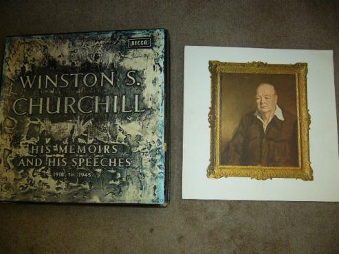 Winston Churchill memoirs and speeches