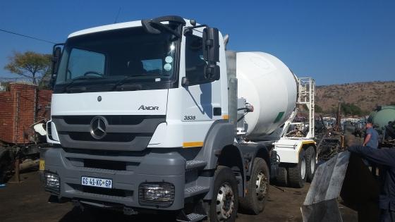 2013 Mercedes Benz Axor 3535 10m Concrete Mixer