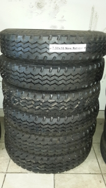 New Retread Tyres For Sale In Witbank Mpumalanga