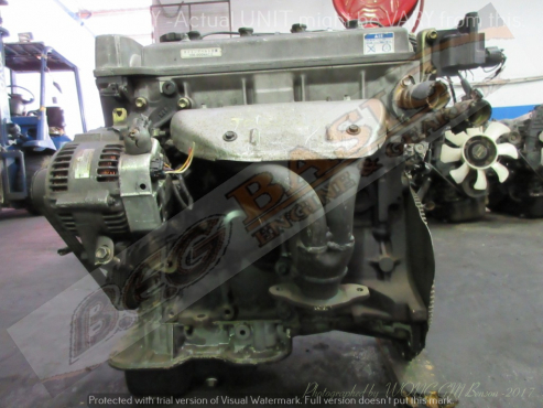 TOYOTA COROLLA -7A FE 1.8L EFI 16V COIL Engine