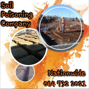 Soil Poisoning Eastern Cape - 064 732 2021 - Eastern Cape