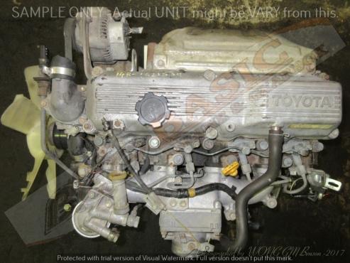TOYOTA DYNA -14B 3.7L NON TURBO DIESEL Engine