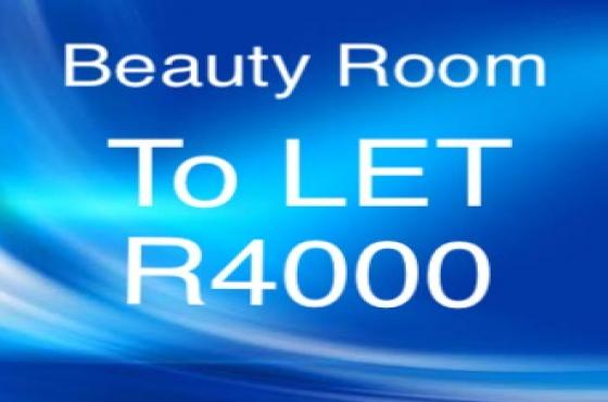 Beauty room in salon