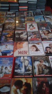 Lots of dvds