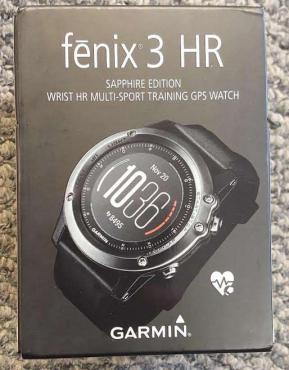 Garmin Fenix 3 HR Sapphire Heart Rate Monitor GPS Fitness Watch