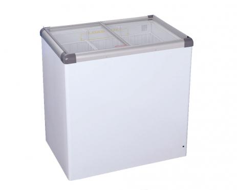 VL222 - Ice Cream - Glass Top - Freezer